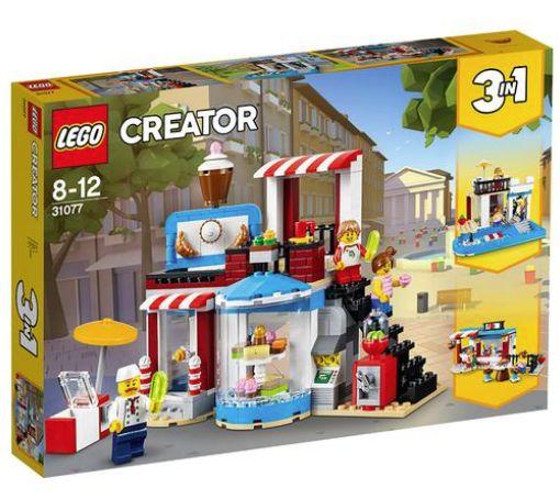 lego creator pasteleria modular