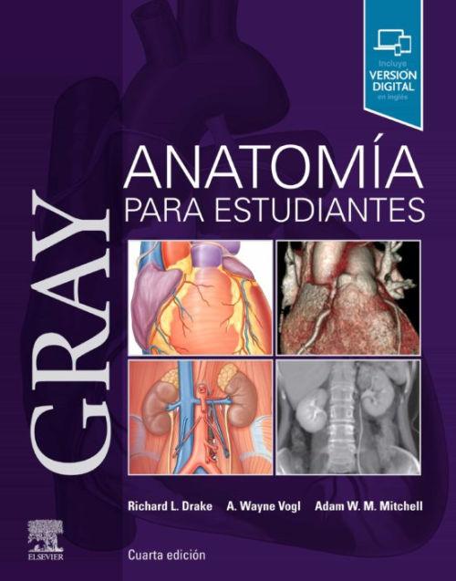 libro gray anatomia para estudiantes de drake