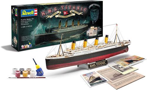 maqueta titanic 100 anos revell