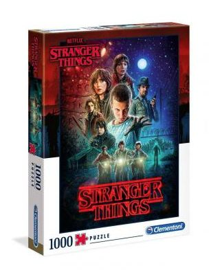 puzle stranger things temporada 1 1000 piezas
