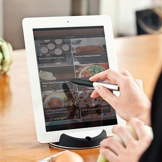 soporte para tablet con puntero